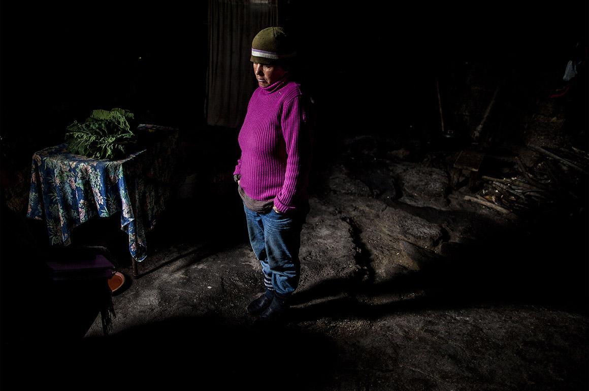 Na casa de granito tosco de Olga só entram os 267,22 euros mensais de rendimento social de inserção
