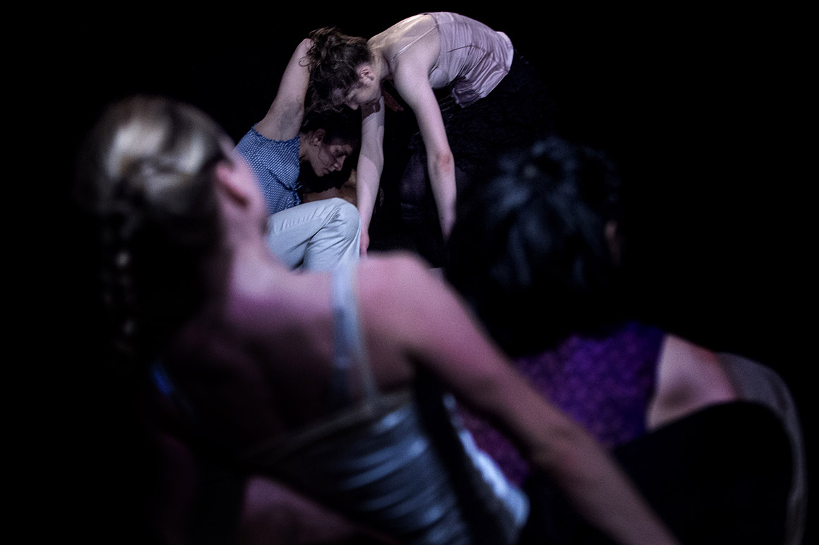 Novo  espaço Armazém 22 Kale Companhia de Dança, peça Traits Portraits , coreografia Paula Moreno