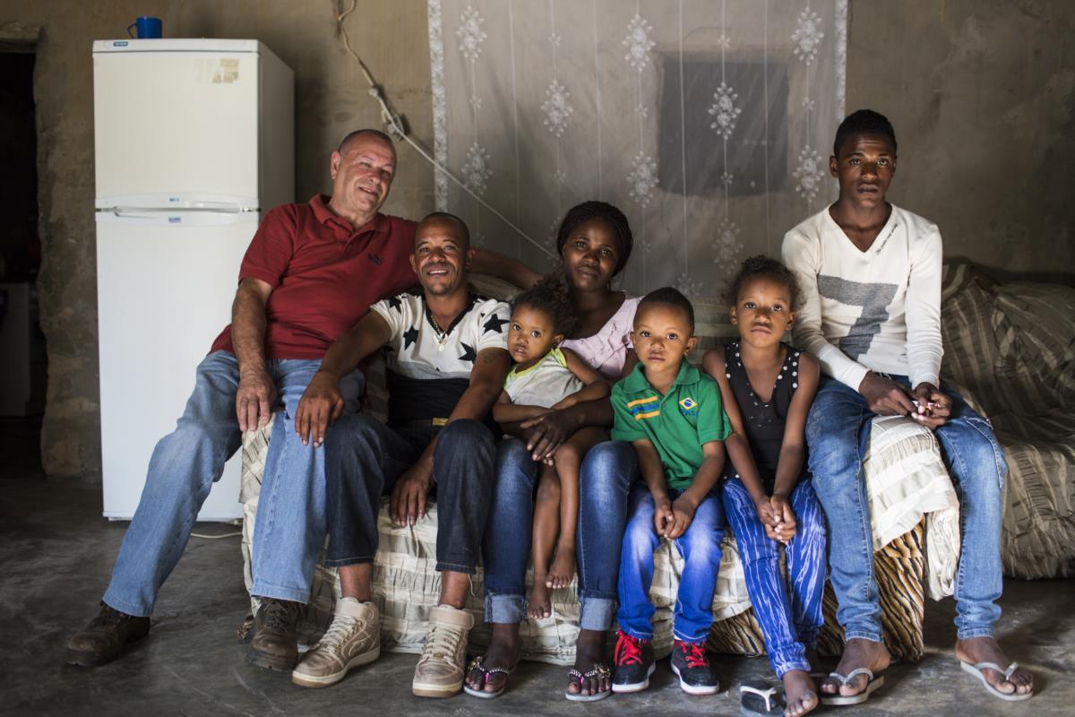 A família completa depois do encontro
