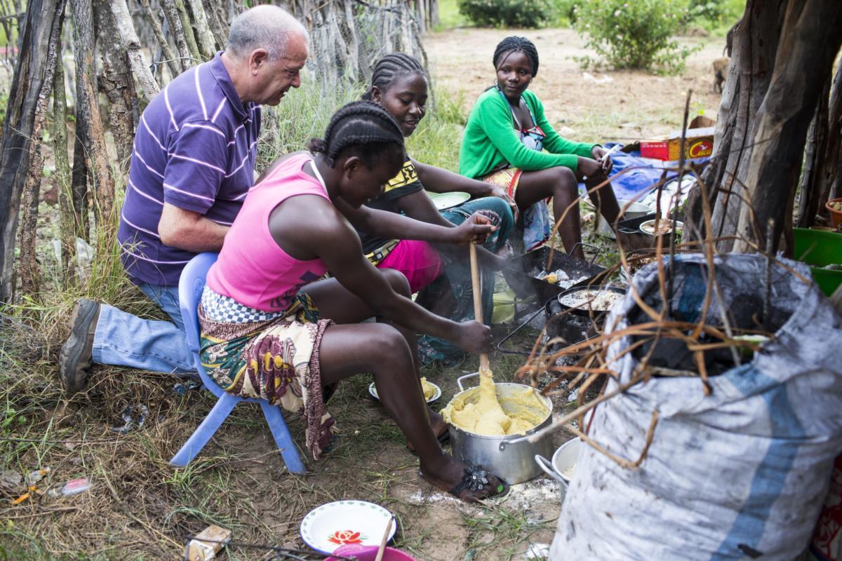 António quis cozinhar para o filho pela primeira vez