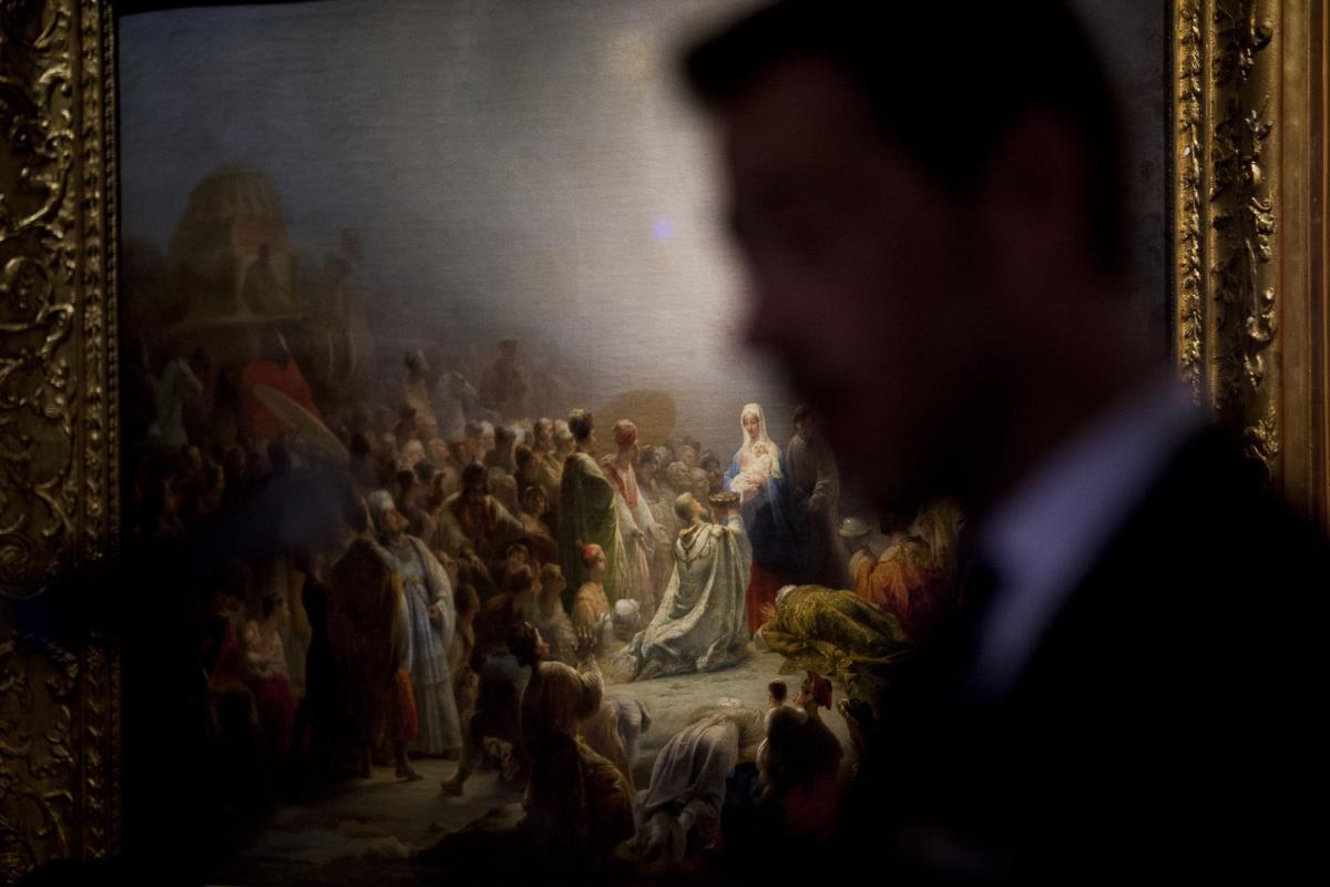 A <i>Adoração dos Magos</i> foi pintada por Domingos Sequeira em 1828