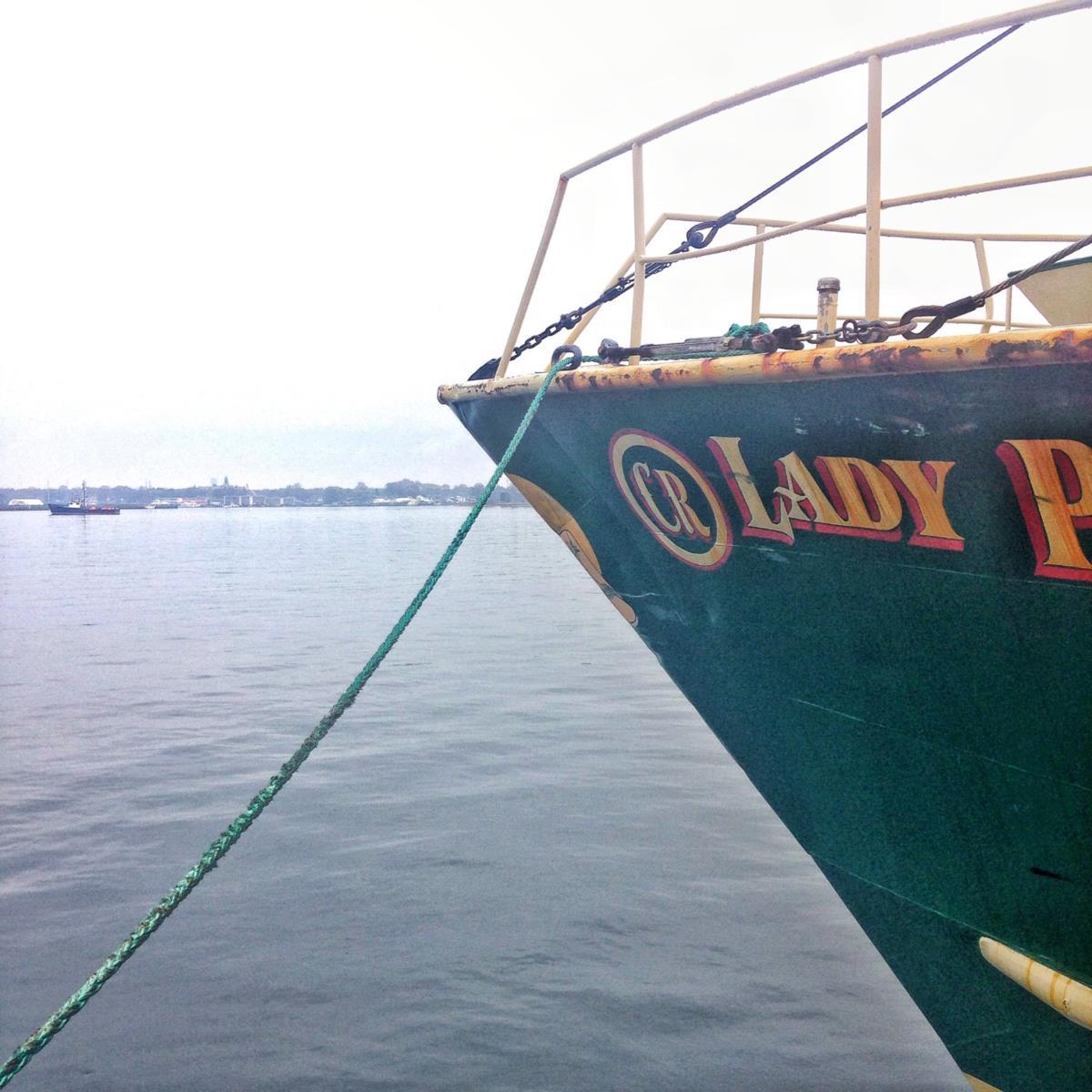 No porto de New Bedford há muitos barcos cujos nomes evocam Açores