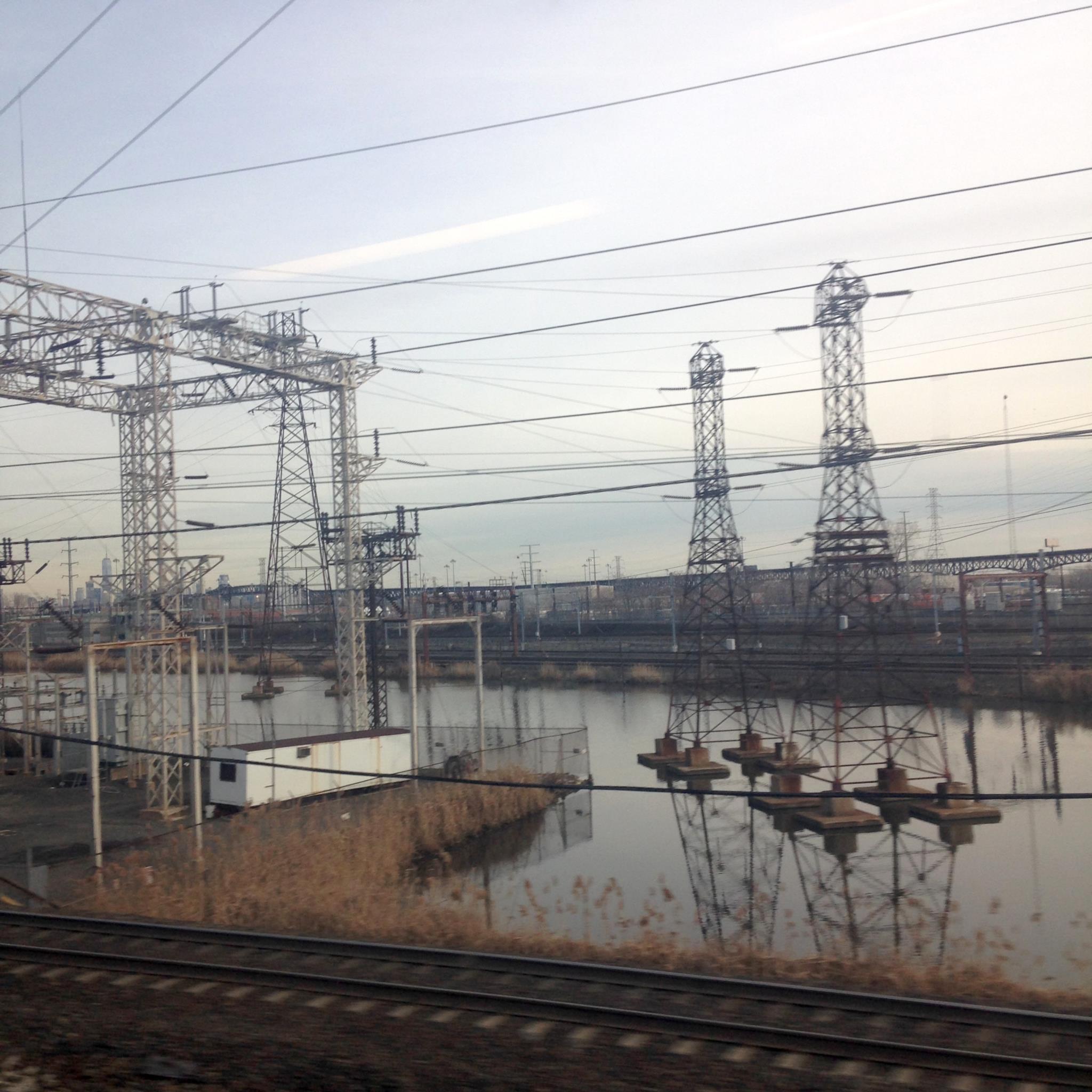 Paisagem industrial de Newark