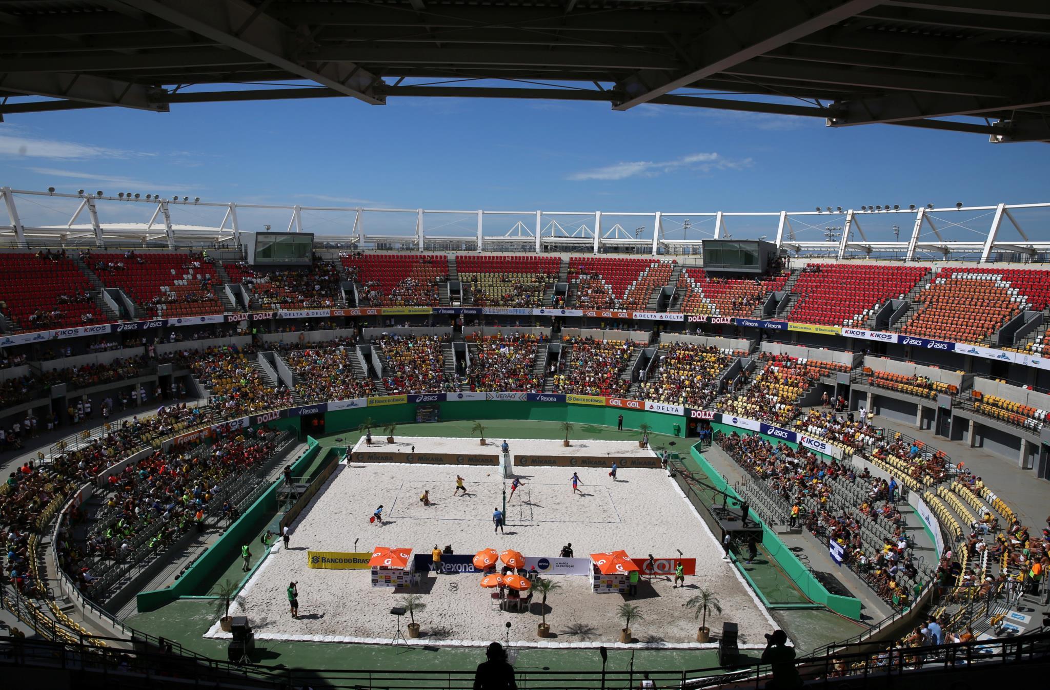 Apenas um torneio foi jogado nesta instalações e mesmo assim houve polémica porque o centro de ténis foi transformado em campo de voleibol de praia