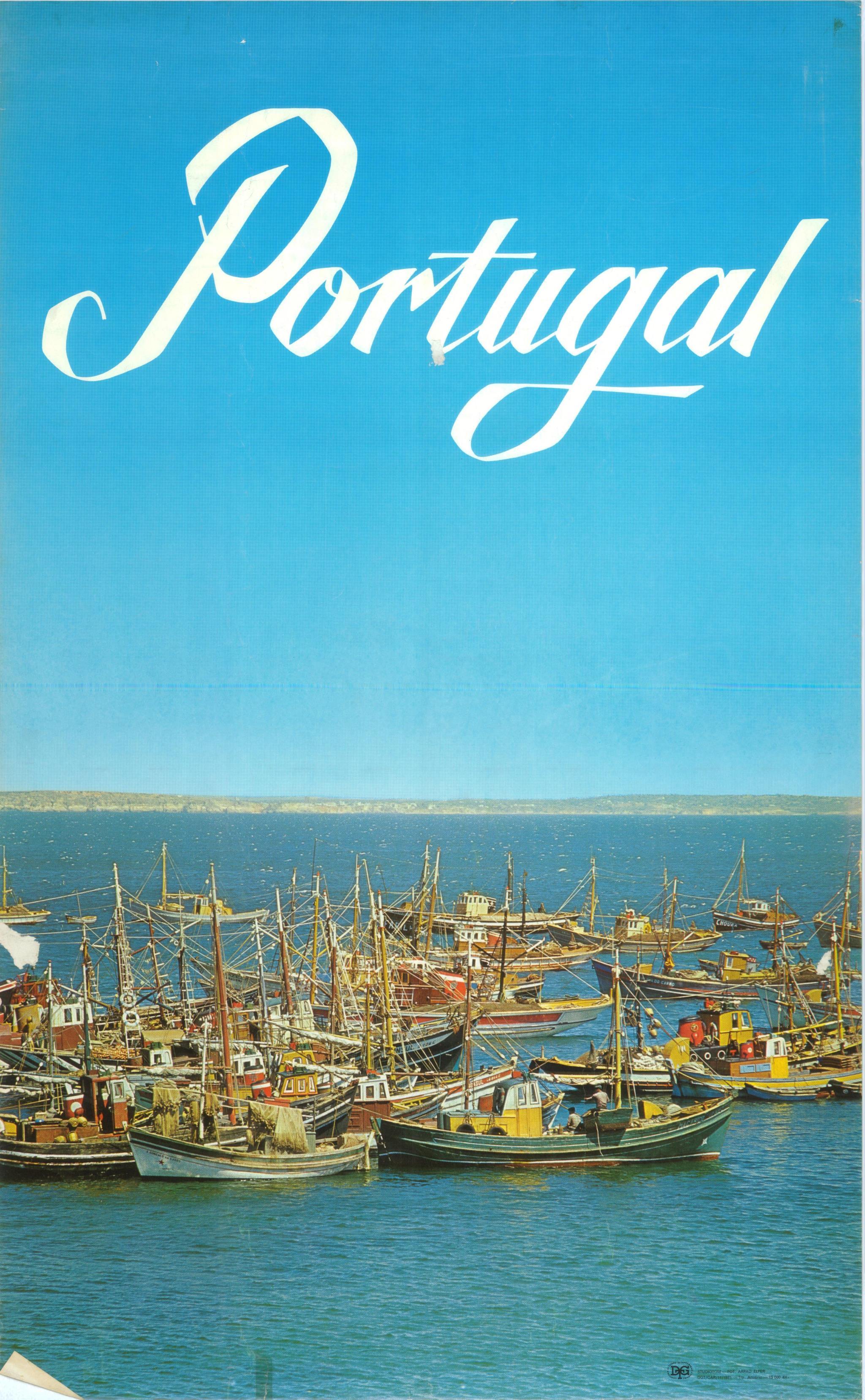 PÚBLICO - Cartaz de 1971 produzido pela Direcção-Geral de Turismo