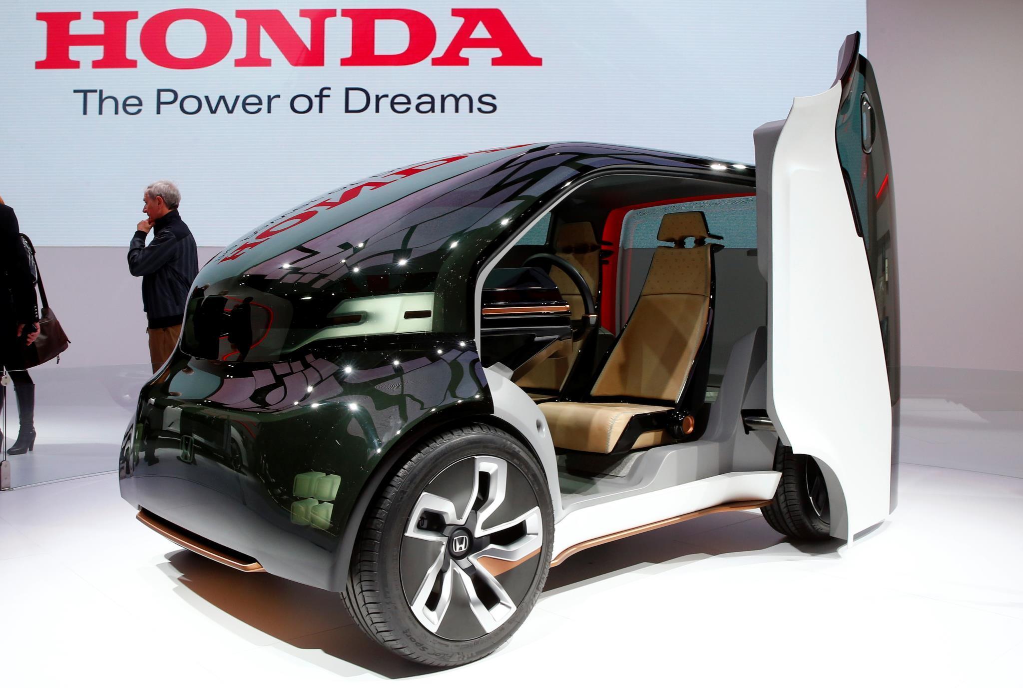 O protótipo do Honda NeuV