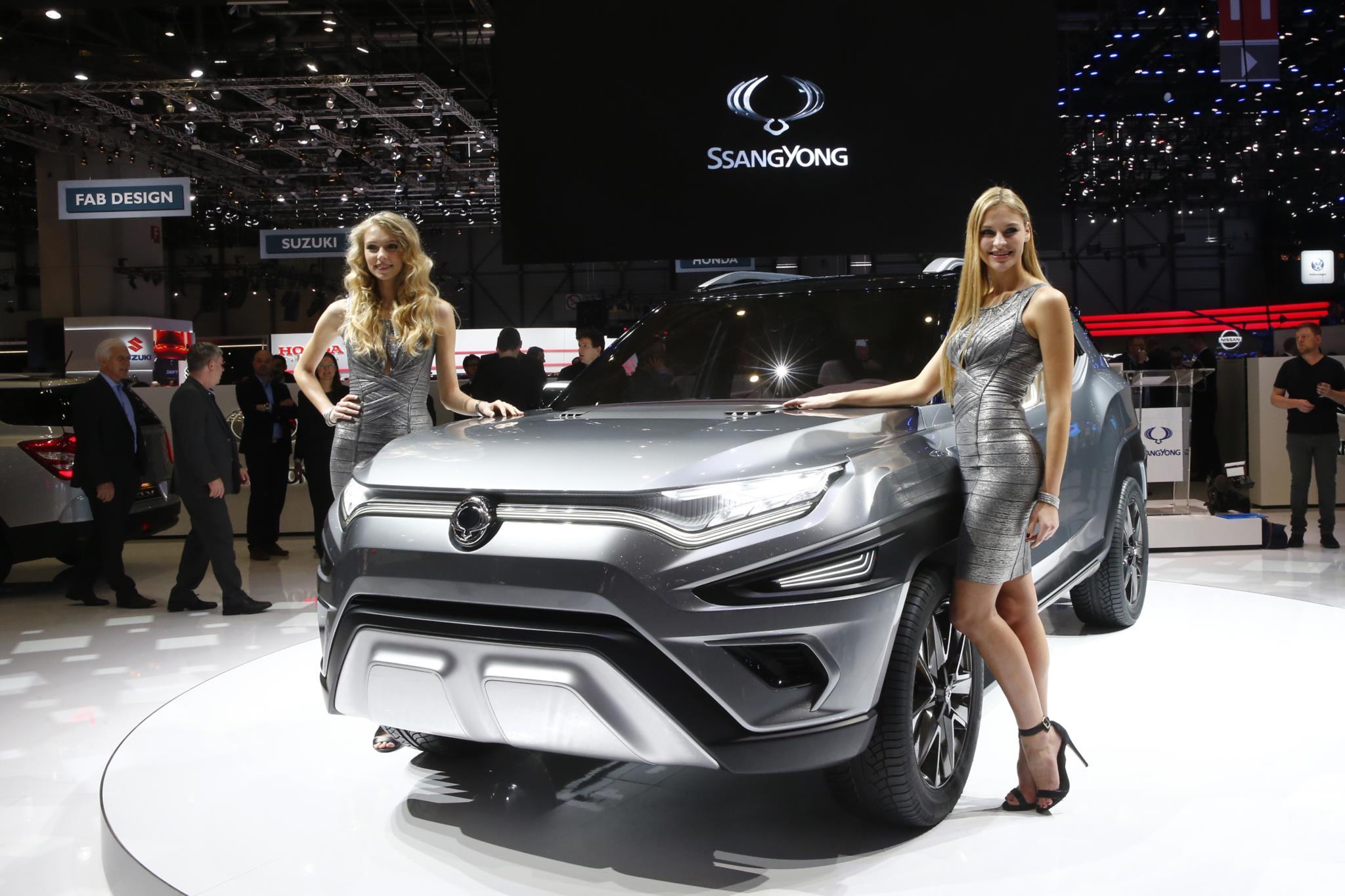 O protótipo do Ssangyong XAVL
