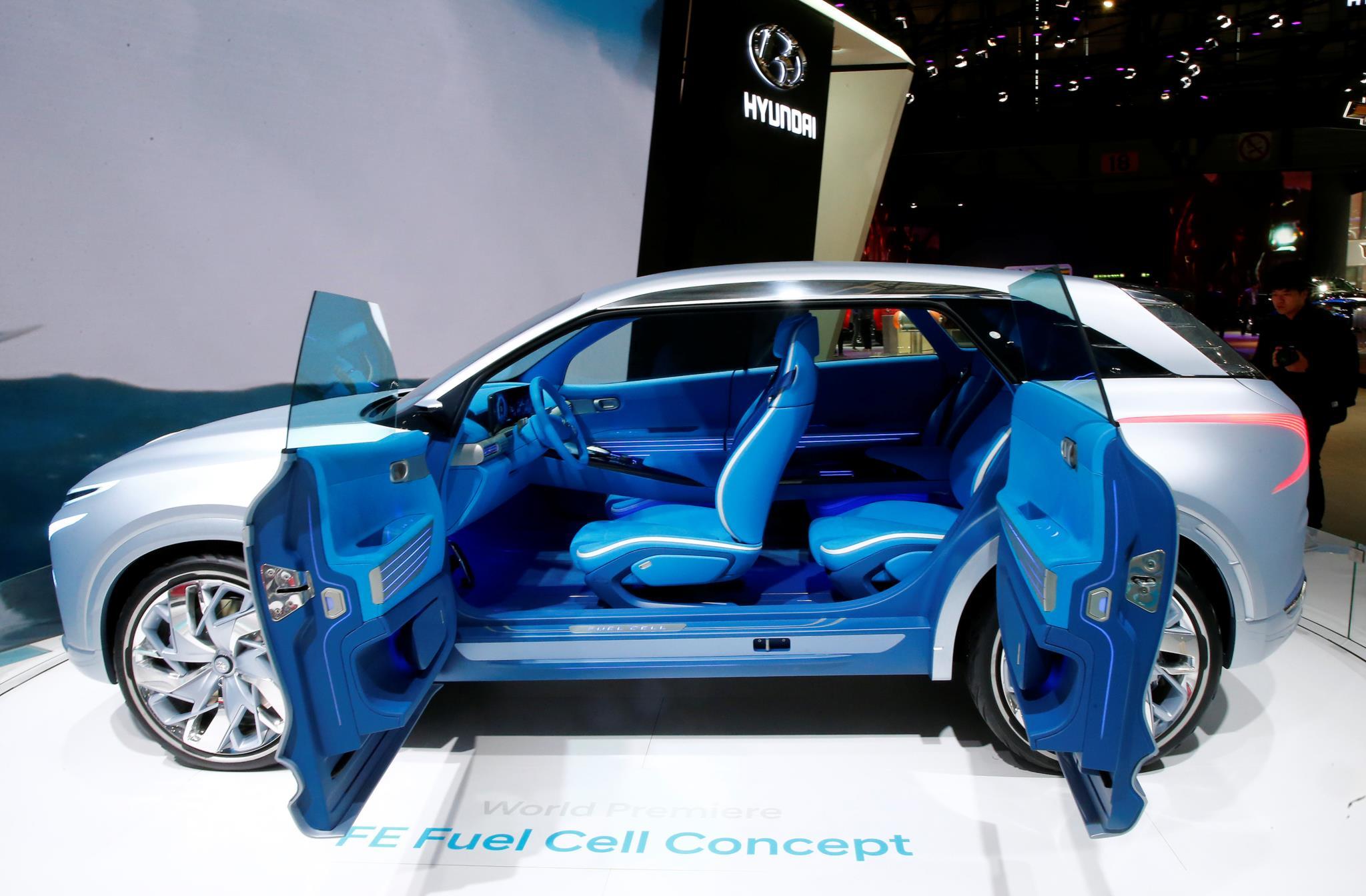 O protótipo do Hyundai Fuel Cell