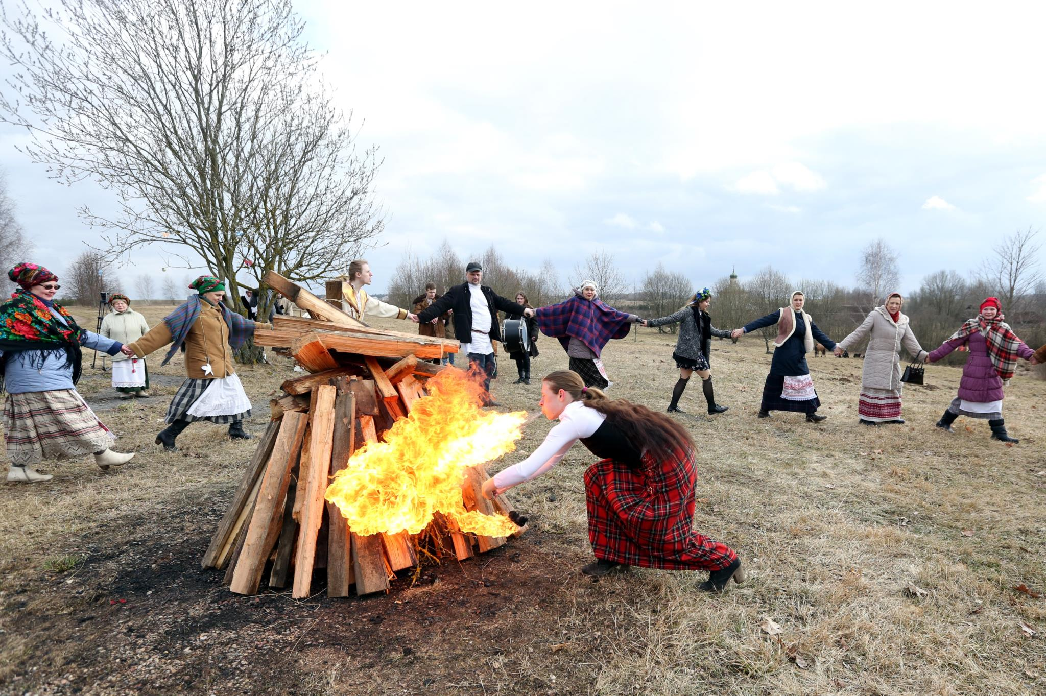 Celebrações de boas-vindas à Primavera na Bielorrússia