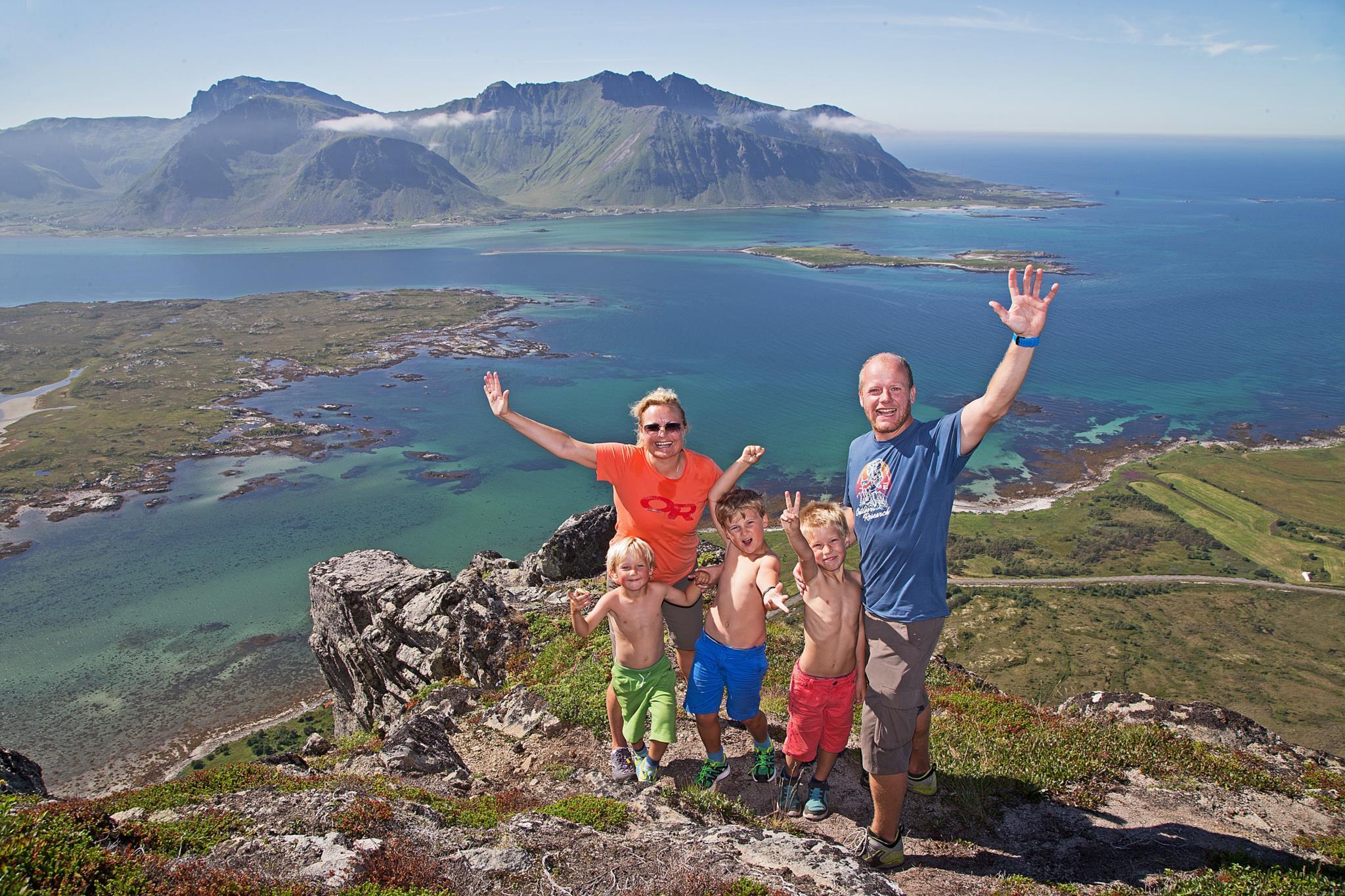 1.º: Noruega