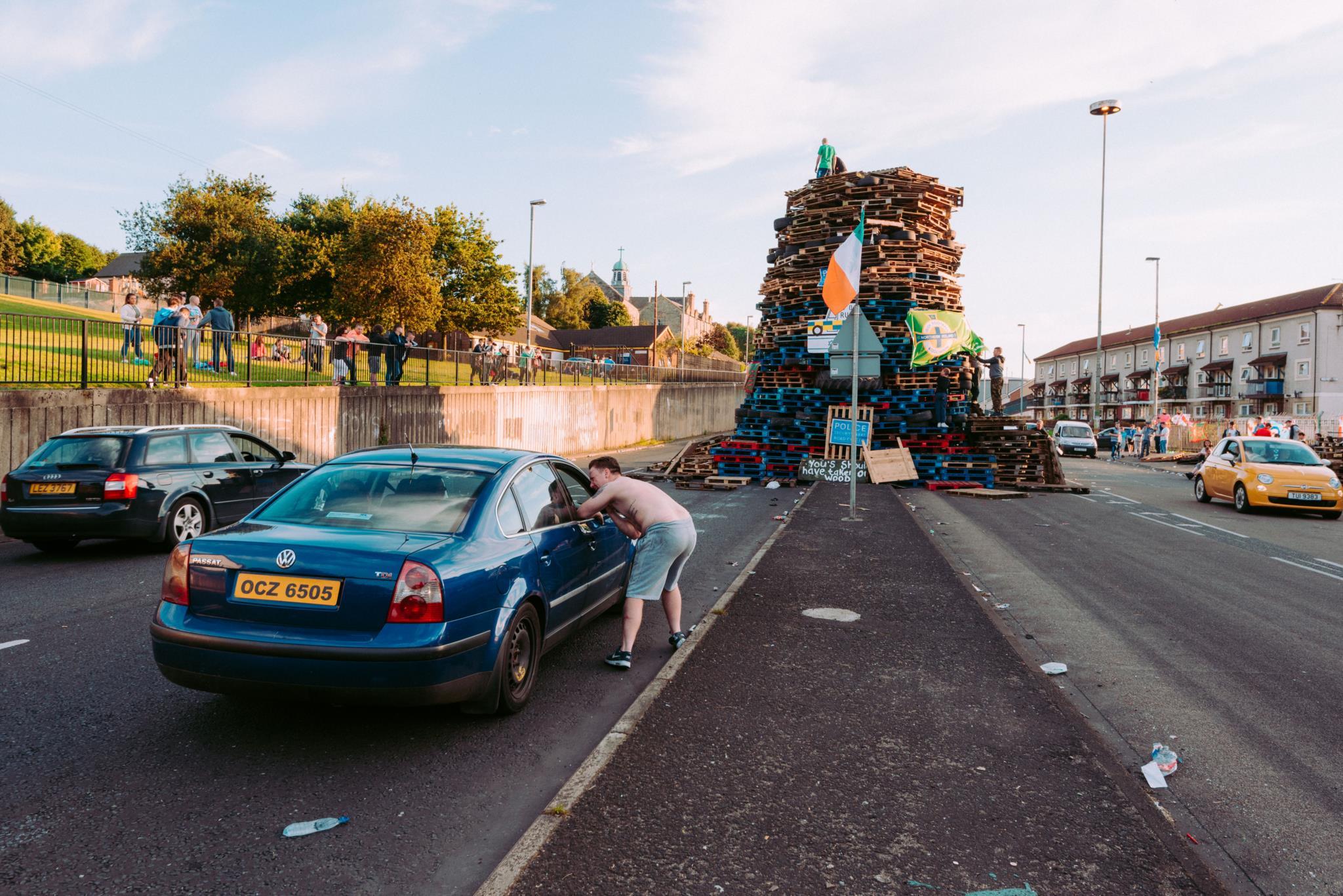 Noite das fogueiras em Derry (1.º prémio - Irlanda)