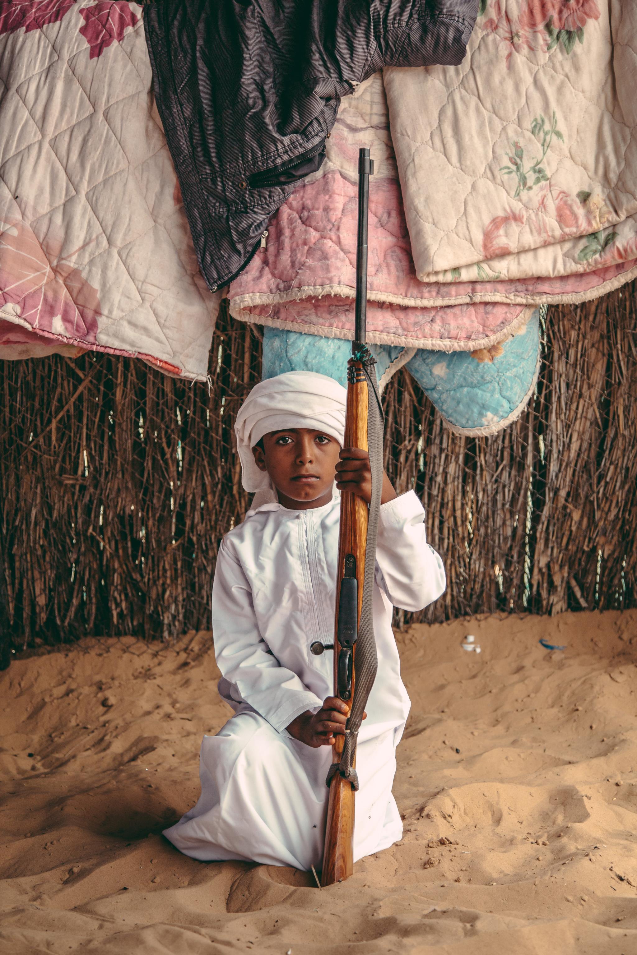 Uma rapaz beduíno em Omã (1.º prémio - Filipinas)