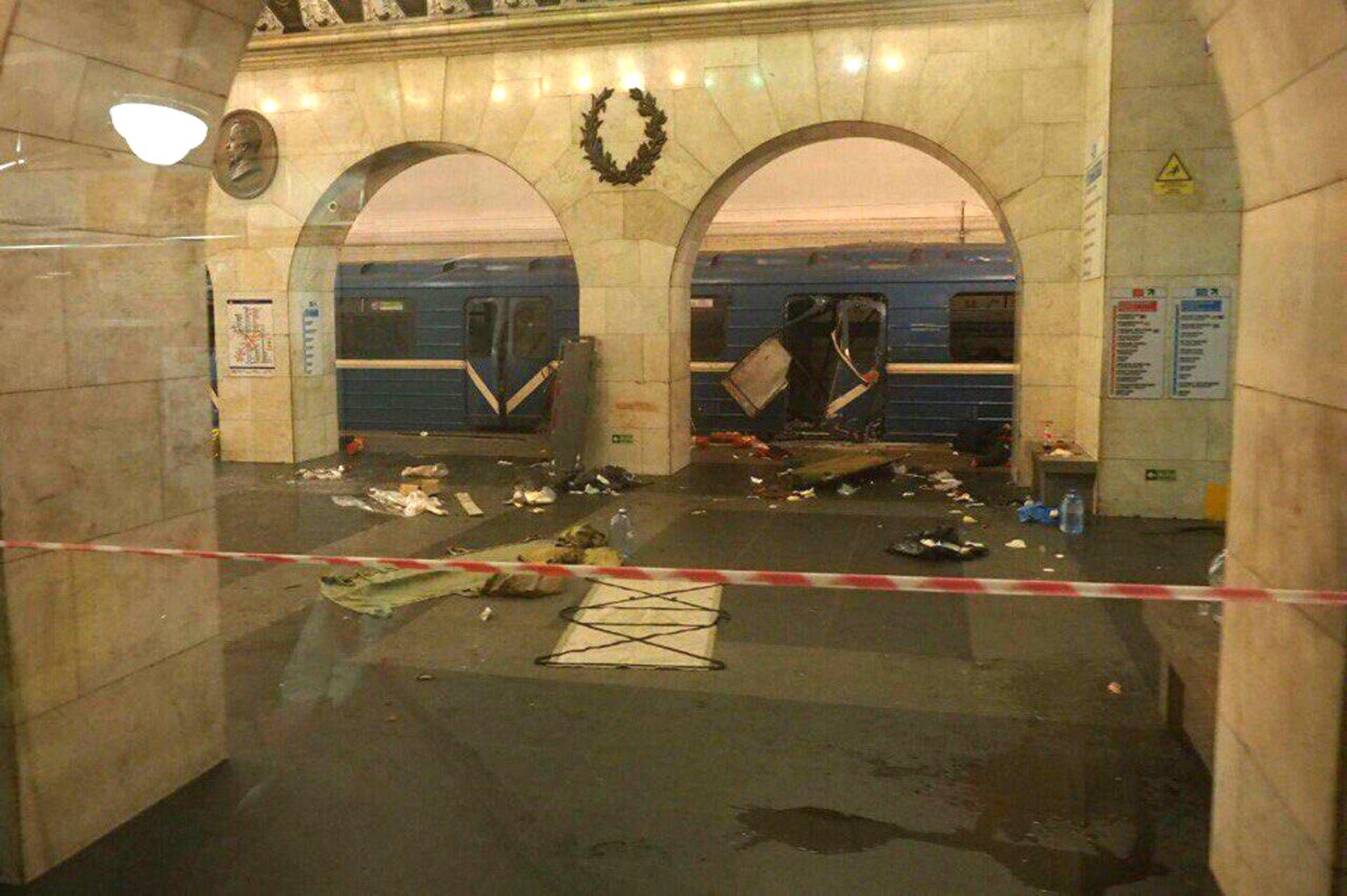 Ataque no metro de São Petersburgo lembra aos russos o que é o terrorismo
