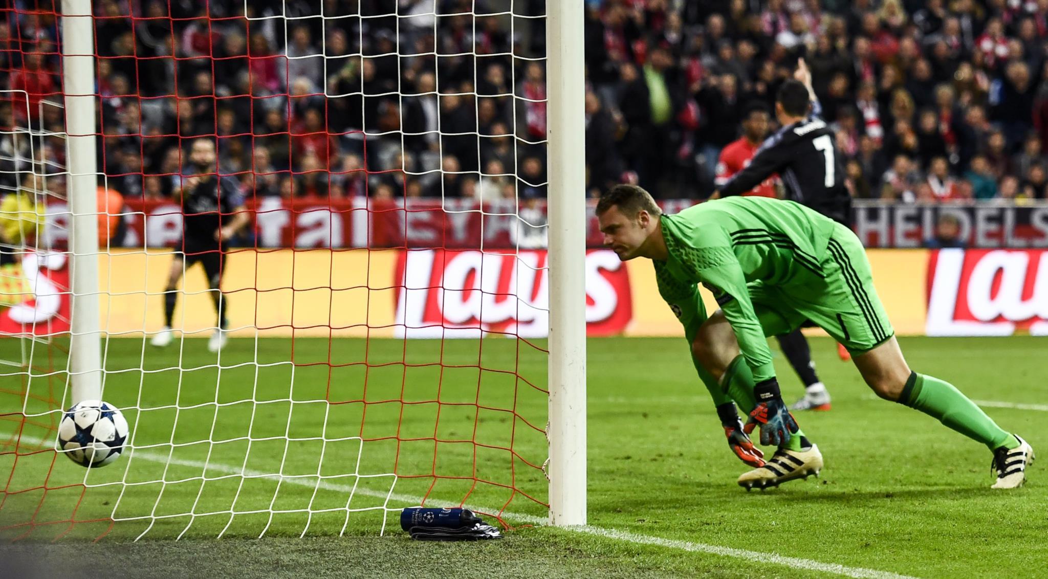 O primeiro golo de Cristiano na eliminatória em Munique