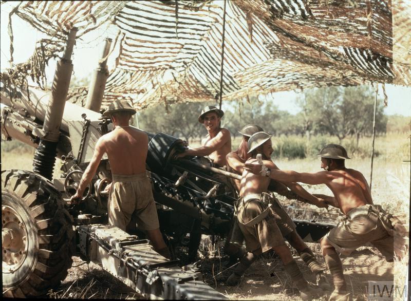 Regimento da Artilharia britânica em acção em Itália, Setembro de 1943
