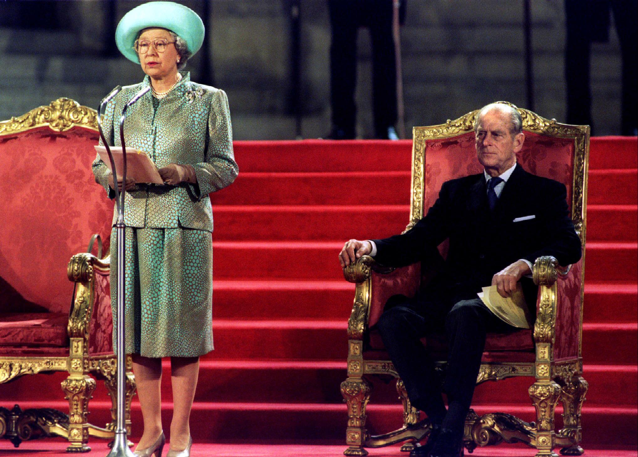 No Parlamento britânico em Maio de 1995