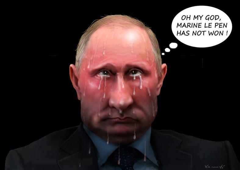 """The poor Putin"". Pobre Putin."