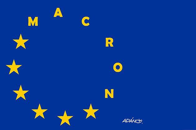 """""""European integration is saved"""". A integração europeia está salva."""