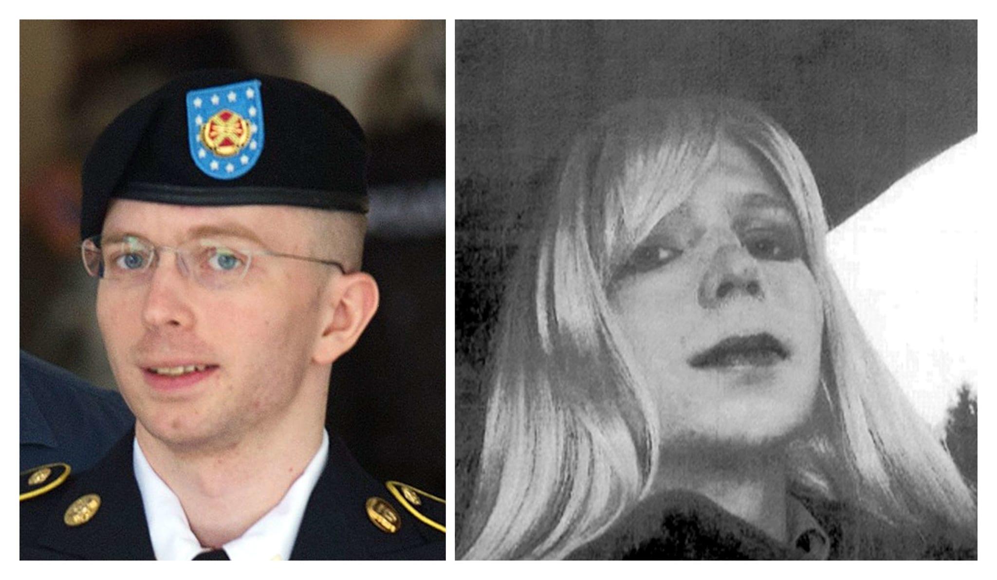 Chelsea Manning, a militar norte-americana que foi condenada a 35 anos de prisão por transmitir documentos confidenciais à WikiLeaks.