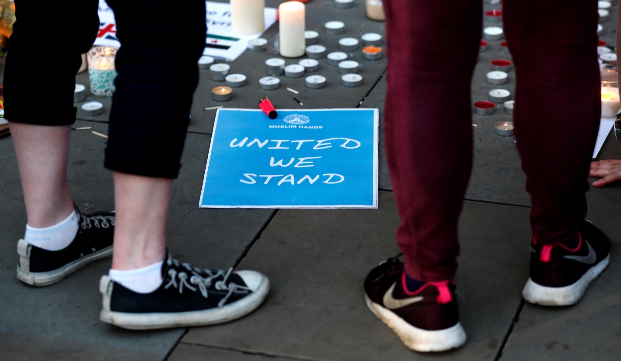 Memorial em Manchester