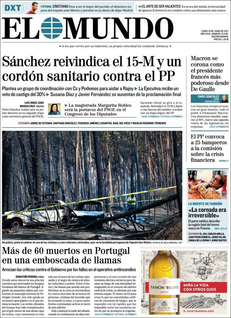 """""""El Mundo"""", Espanha"""