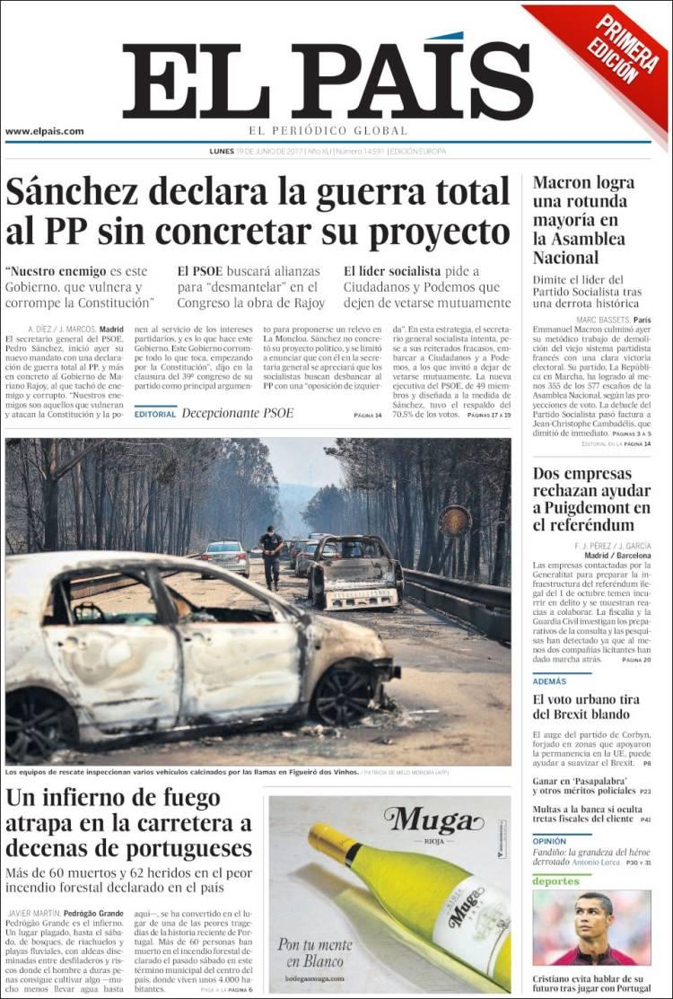 """""""El País"""", Espanha"""