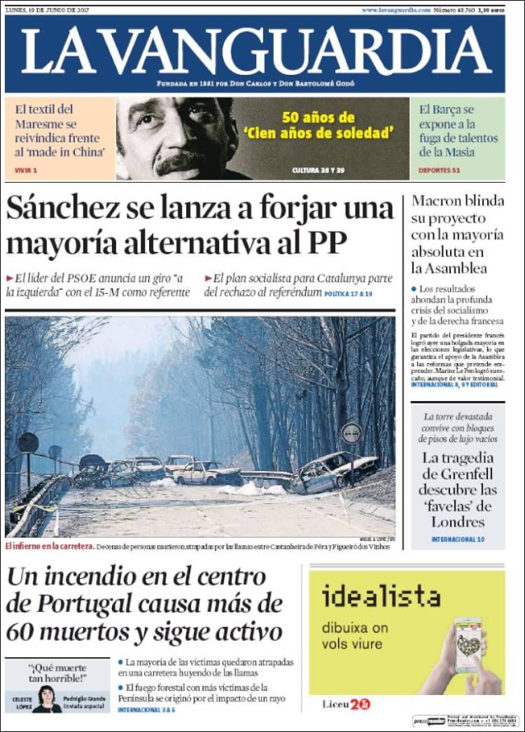 """La Vanguardia"", Espanha"
