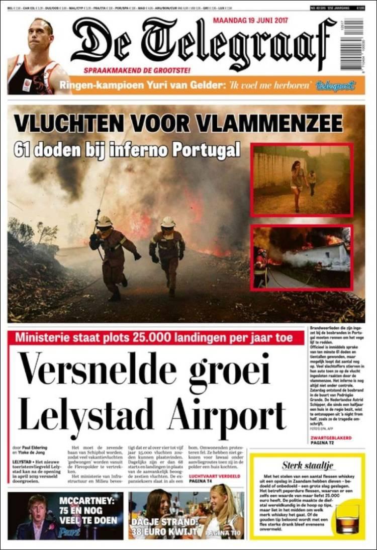 """""""De Telegraaf"""", Holanda"""