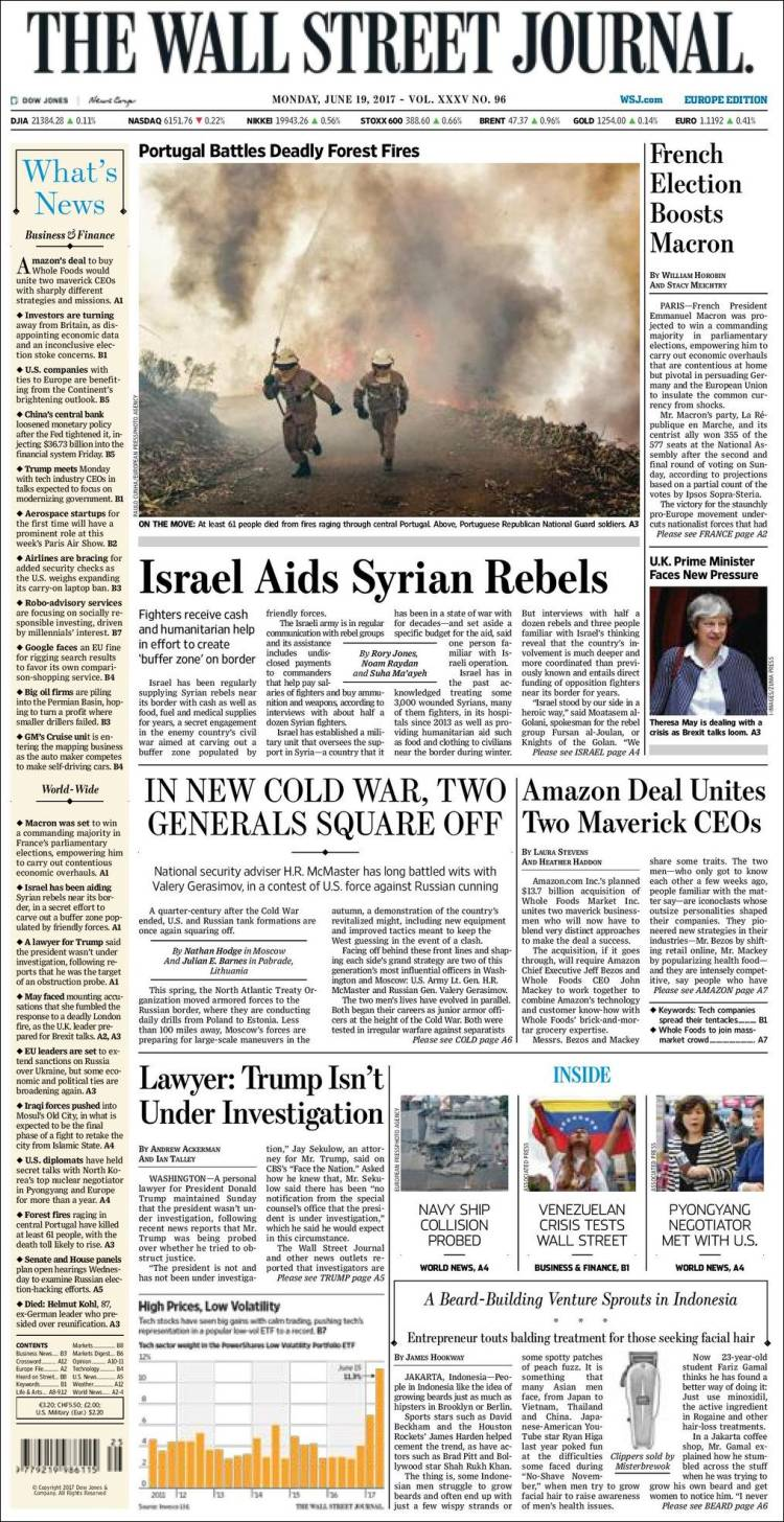 """Wall Street Journal"", EUA"