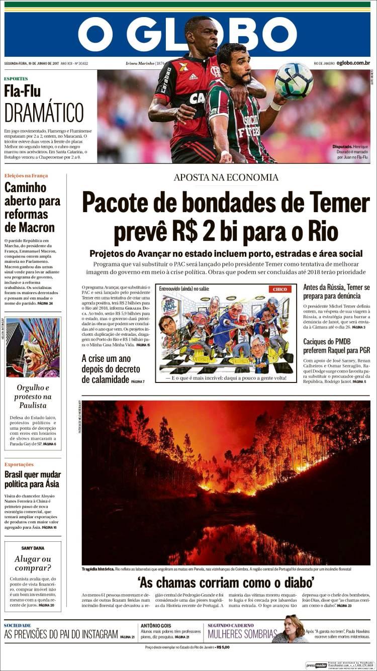 """""""O Globo"""", Brasil"""