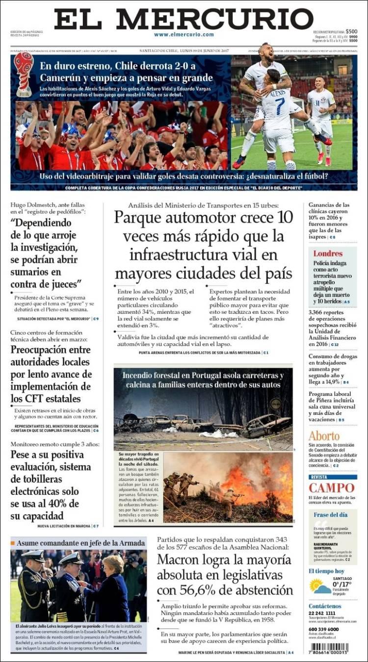 """El Mercurio"", Chile"