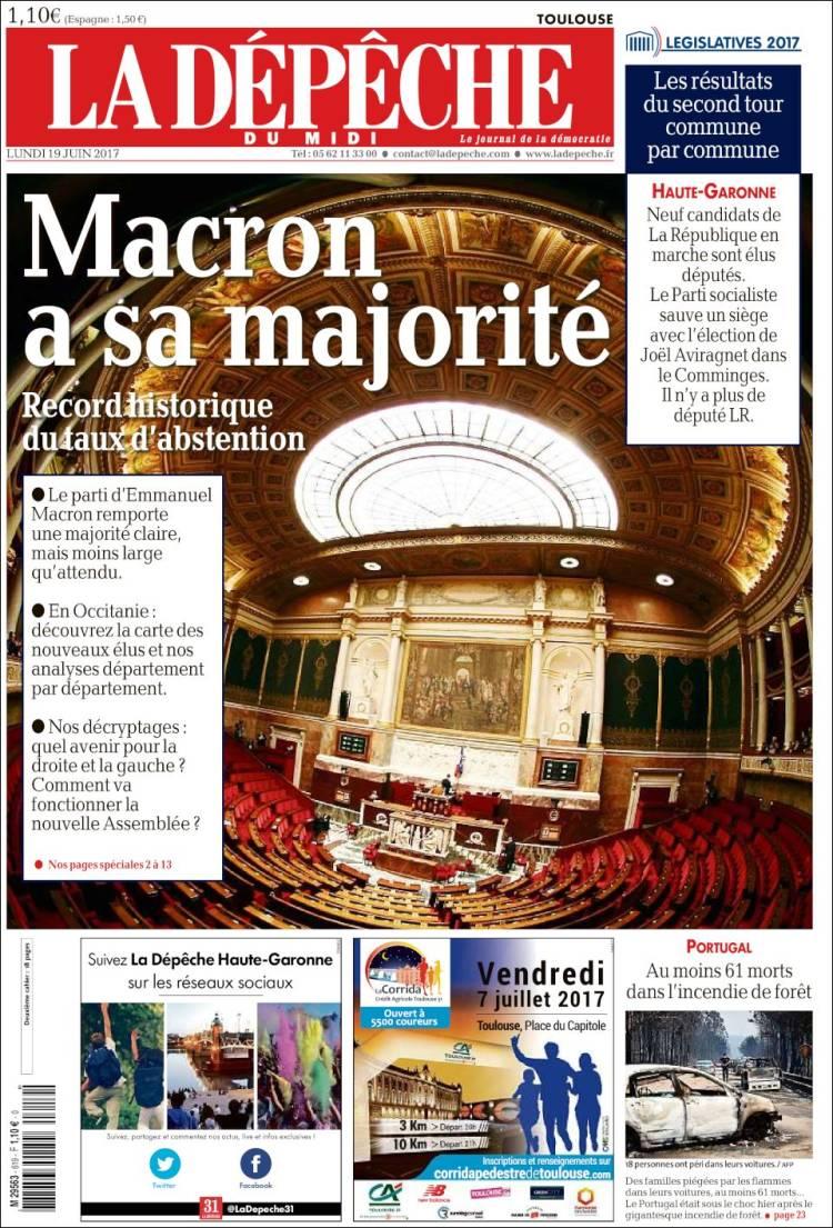 """La Depeche"", França"
