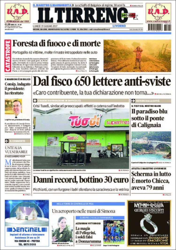 """""""Il Tirreno"""", Itália"""