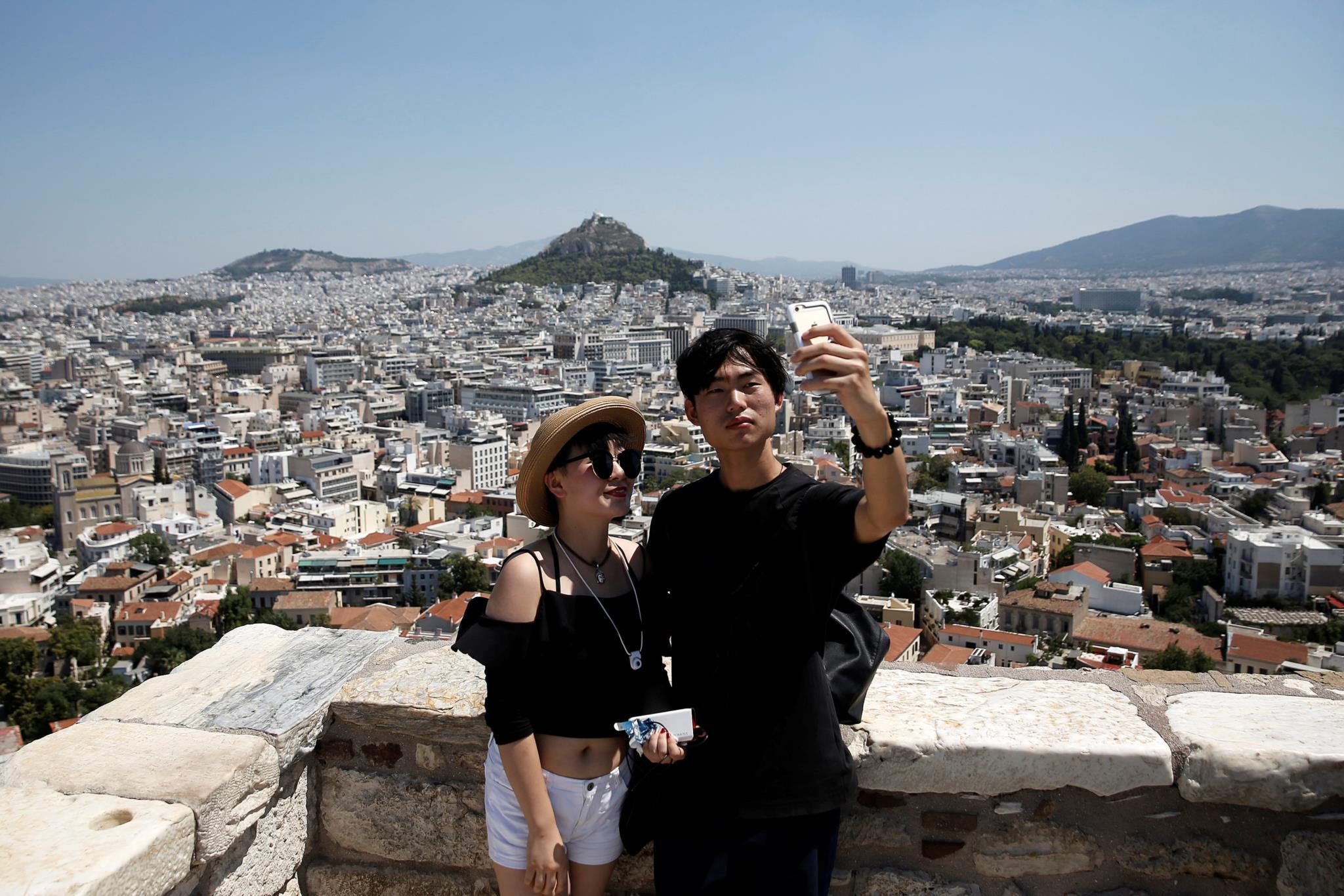 Acrópole em Atenas, Grécia