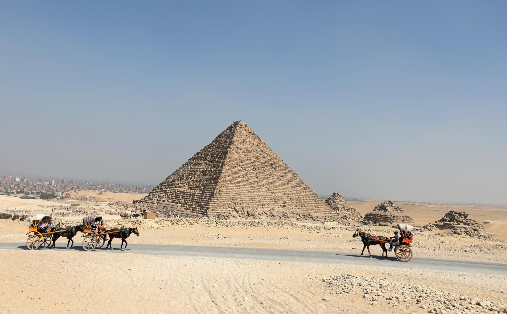 Pirâmides de Gizé, Egipto