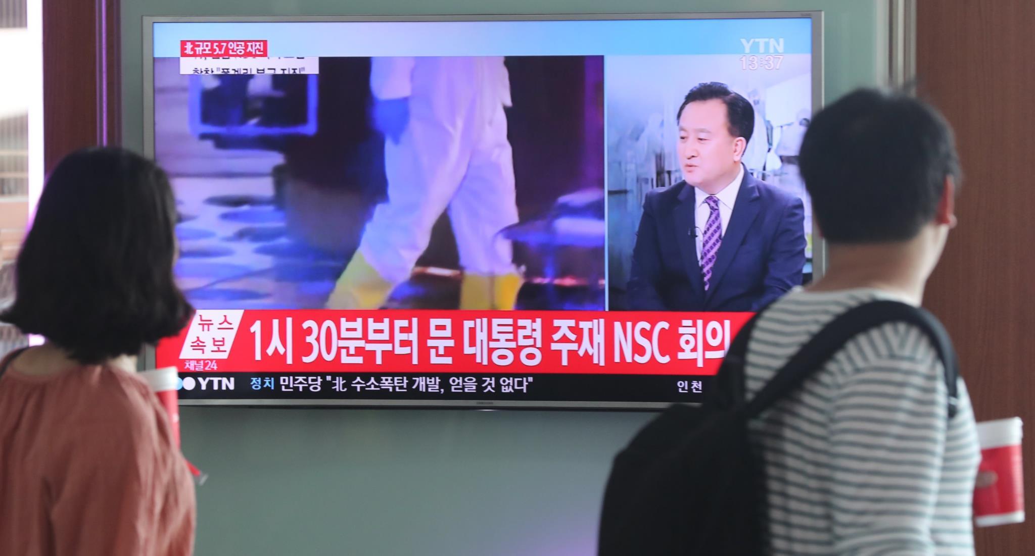 Na capital sul-coreana