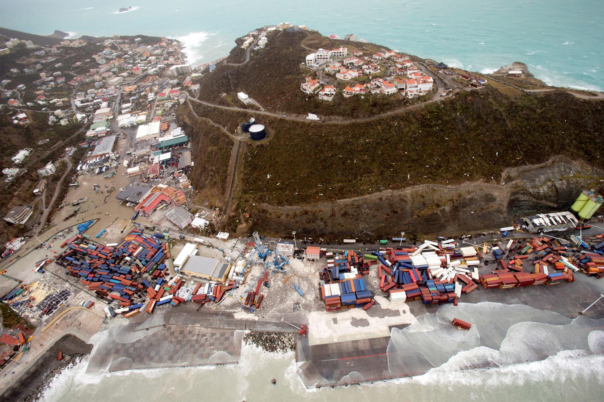 A ilha caribenha de São Martinho foi das localidades mais afectadas pelo <i>Irma</i>