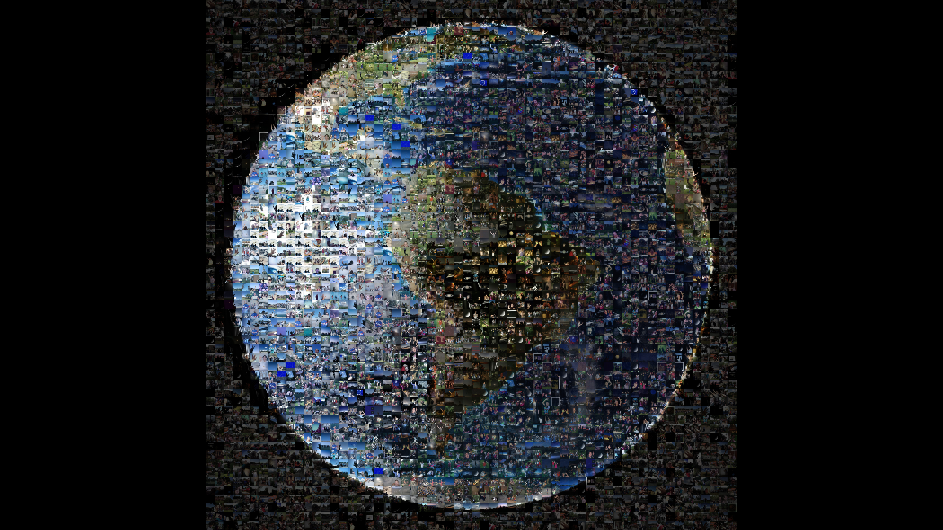 A 19 de Julho de 2013, no mesmo dia em que a Cassini fotografou a Terra, um desafio lançado pela NASA pôs 1400 pessoas de 40 países a partilharem fotografias suas. A NASA reuniu essas fotografias numa imagem composta que recria a Terra. É uma forma de dizer adeus