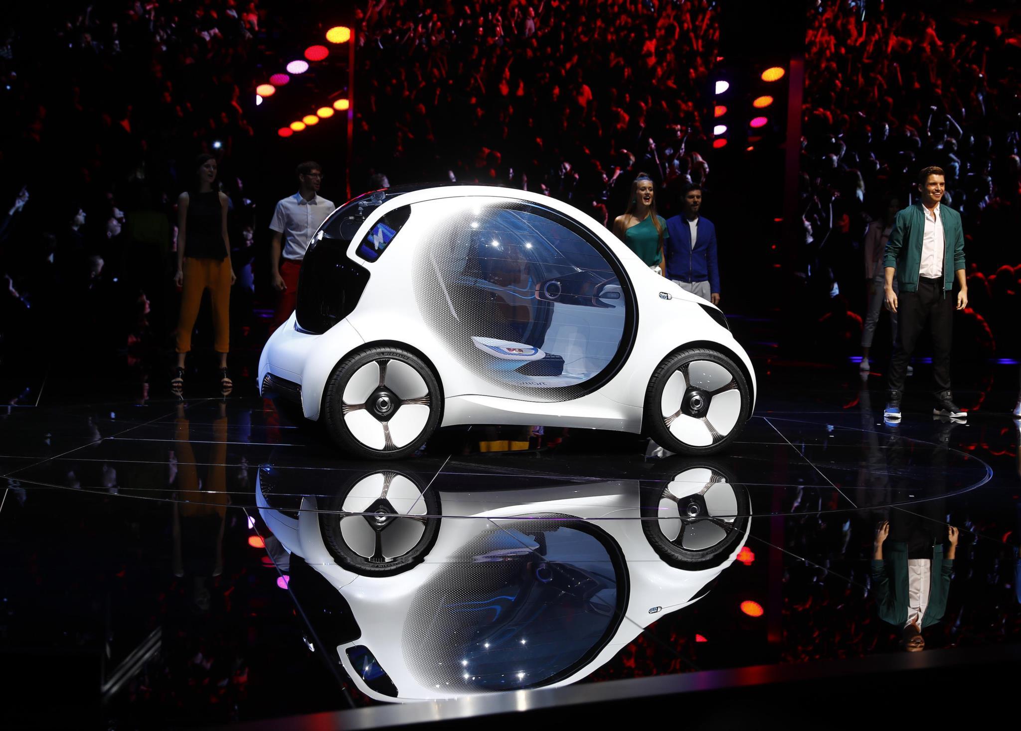 Novo Smart fortwo com condução autónoma