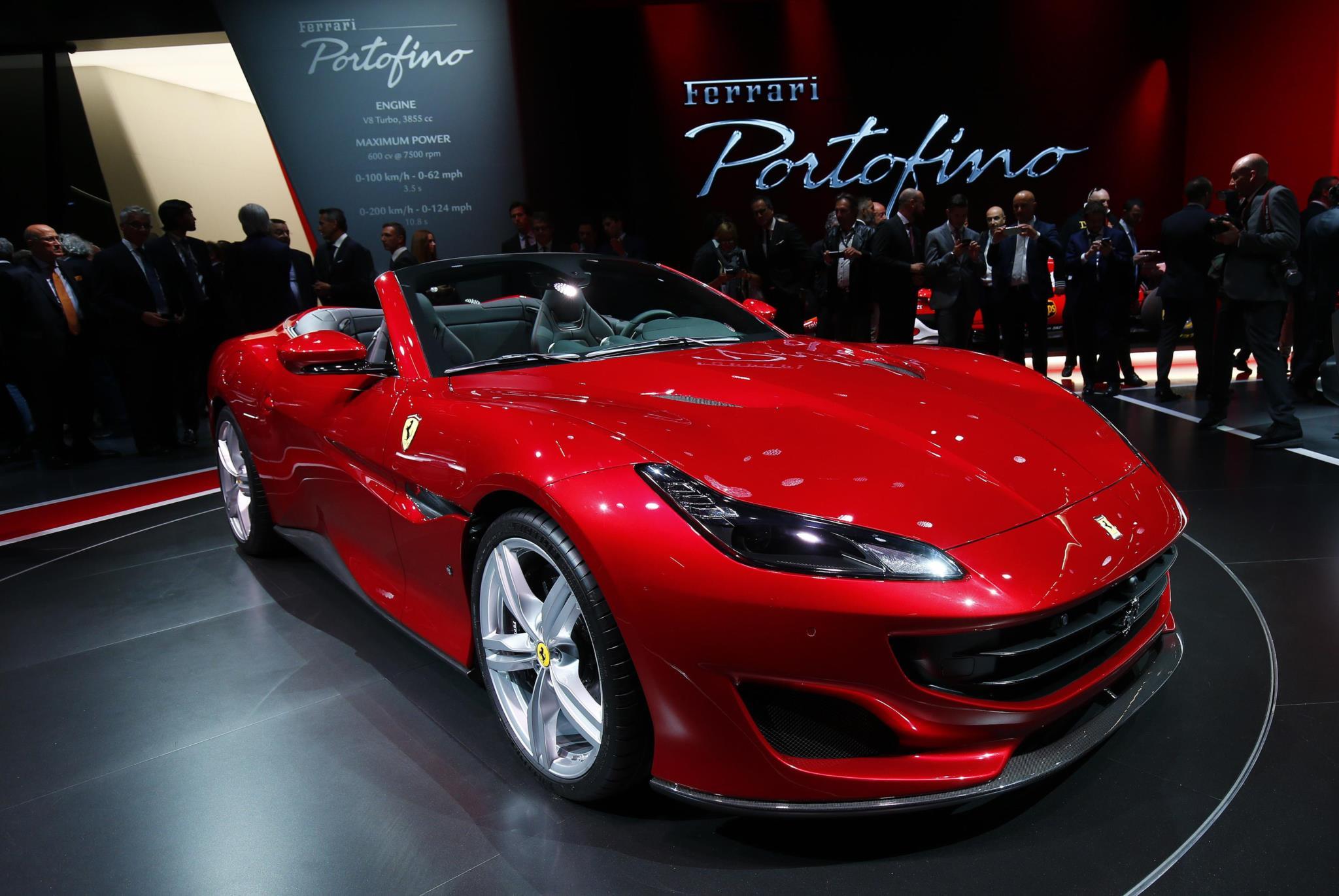 Novo Ferrari Portofino