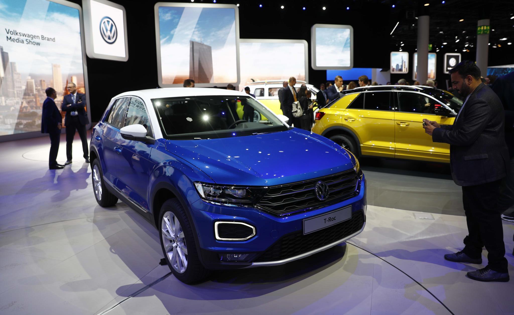 VW T-Roc, que será produzido na Autoeuropa