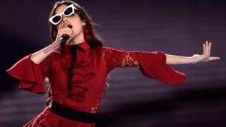 Performance da cantora e compositora cubana Camila Cabello
