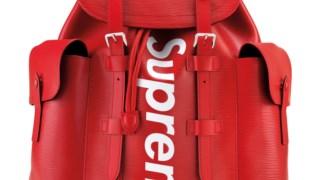 Mochila em pele da Louis Vuitton, em colaboração com a Supreme (10 a 15 mil dólares)