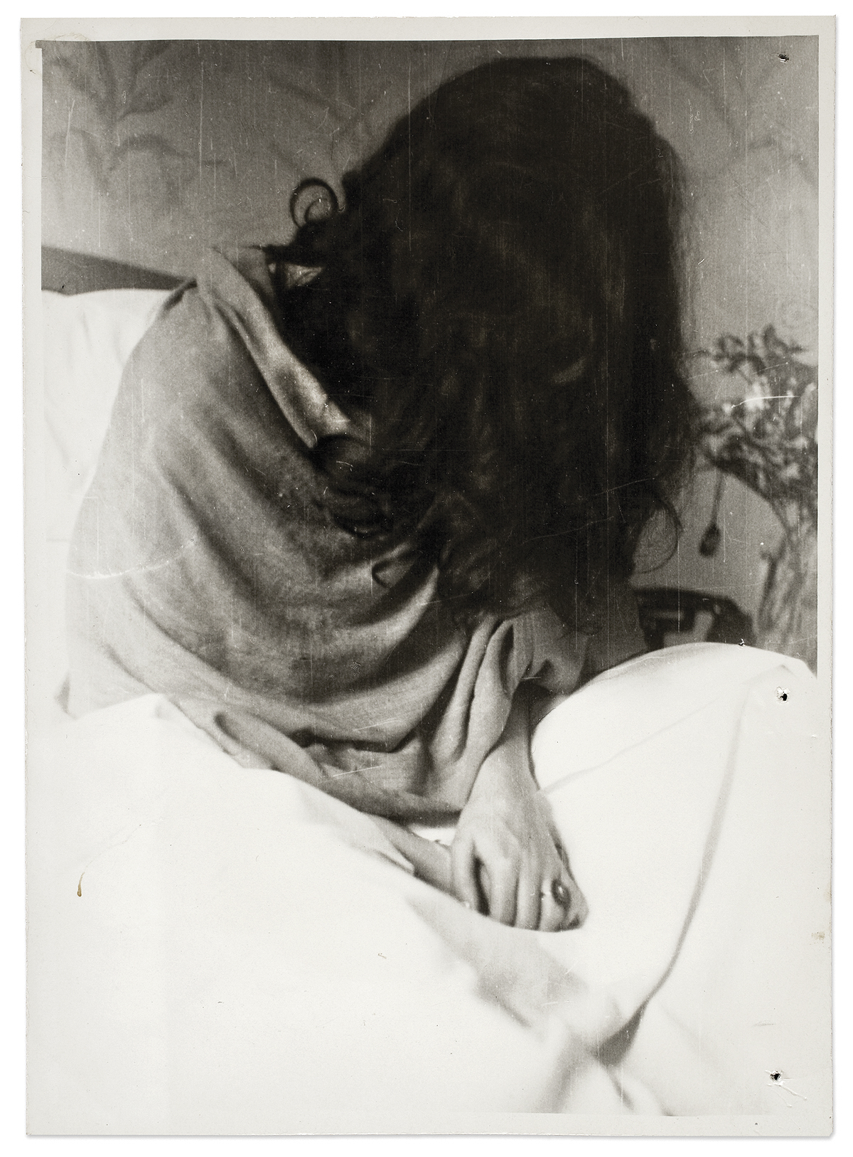 Frida  no  hospital  de  Nova  Iorque,  por  Nickolas  Muray,  1946  ©  Museu  Frida  Kahlo