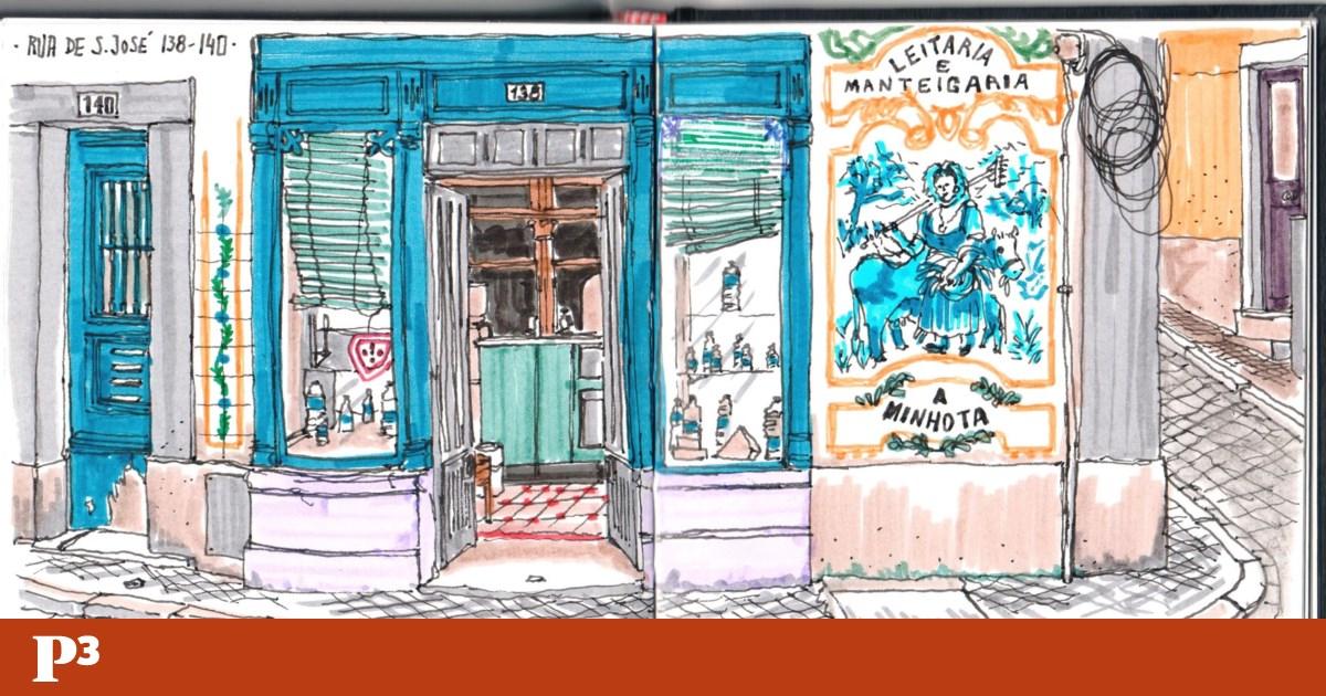 """A """"Lisboa que vai mudando"""", pela mão de um urban sketcher"""