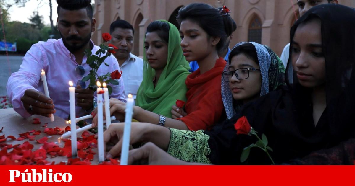 Mundo presta homenagem às vítimas do Sri Lanka