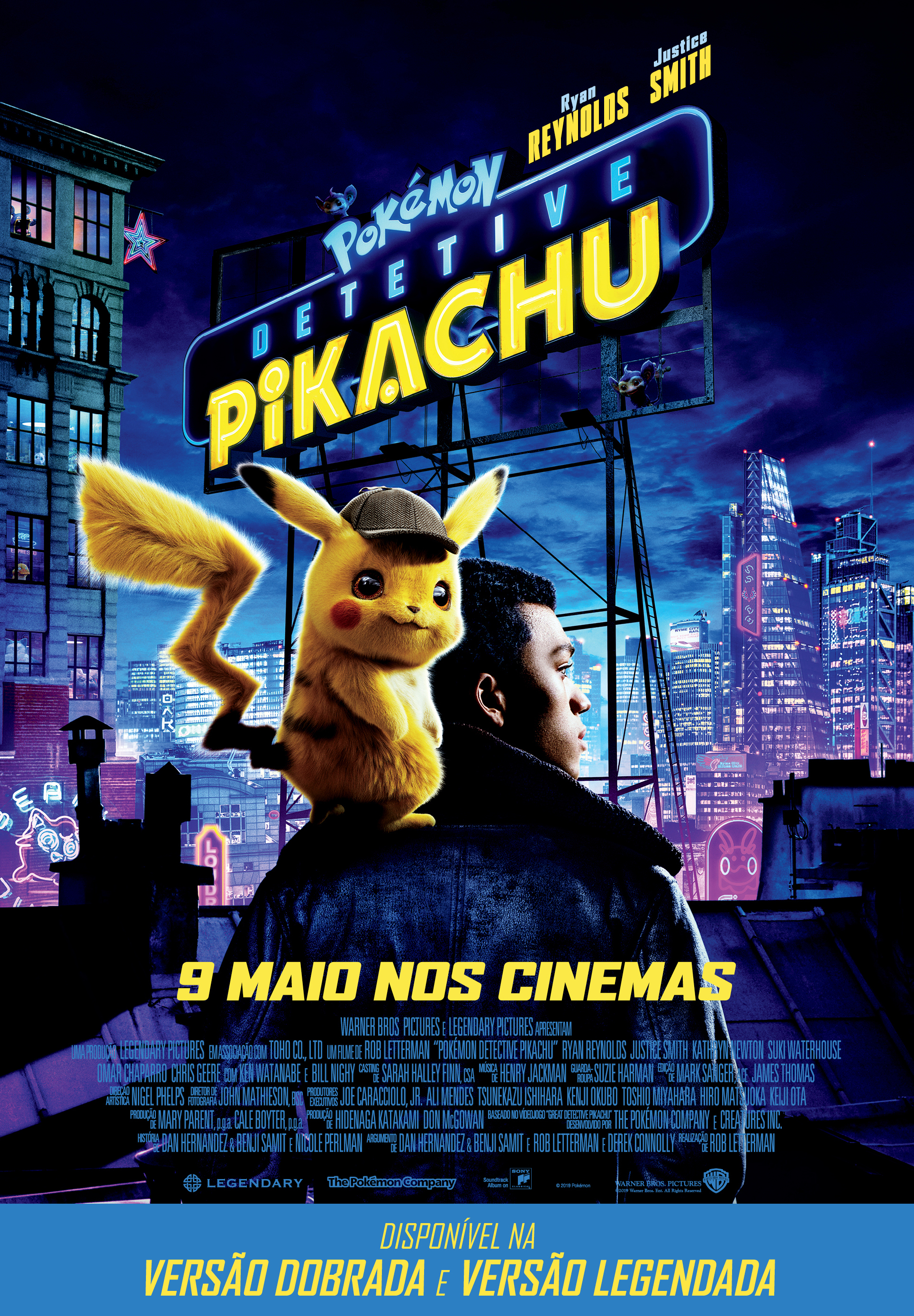 Pokémon: Detective Pikachu - Cinecartaz
