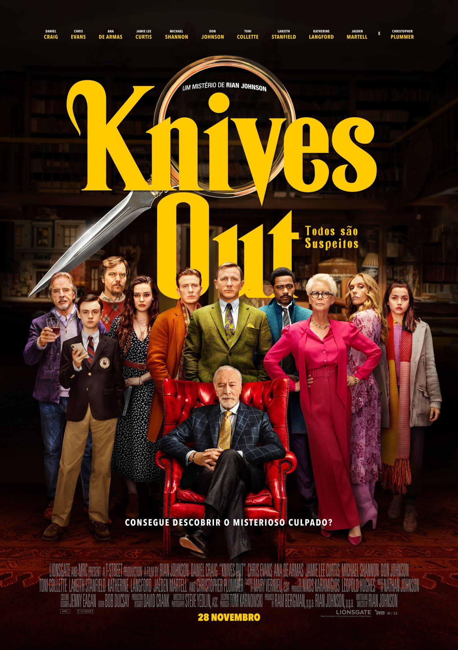 Knives Out: Todos São Suspeitos - Cinecartaz
