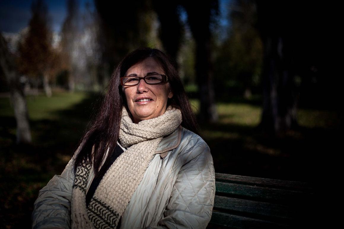 Fátima Alexandra tem 57 anos e está sem emprego desde Setembro de 2011, altura em que a fábrica onde trabalhava fechou