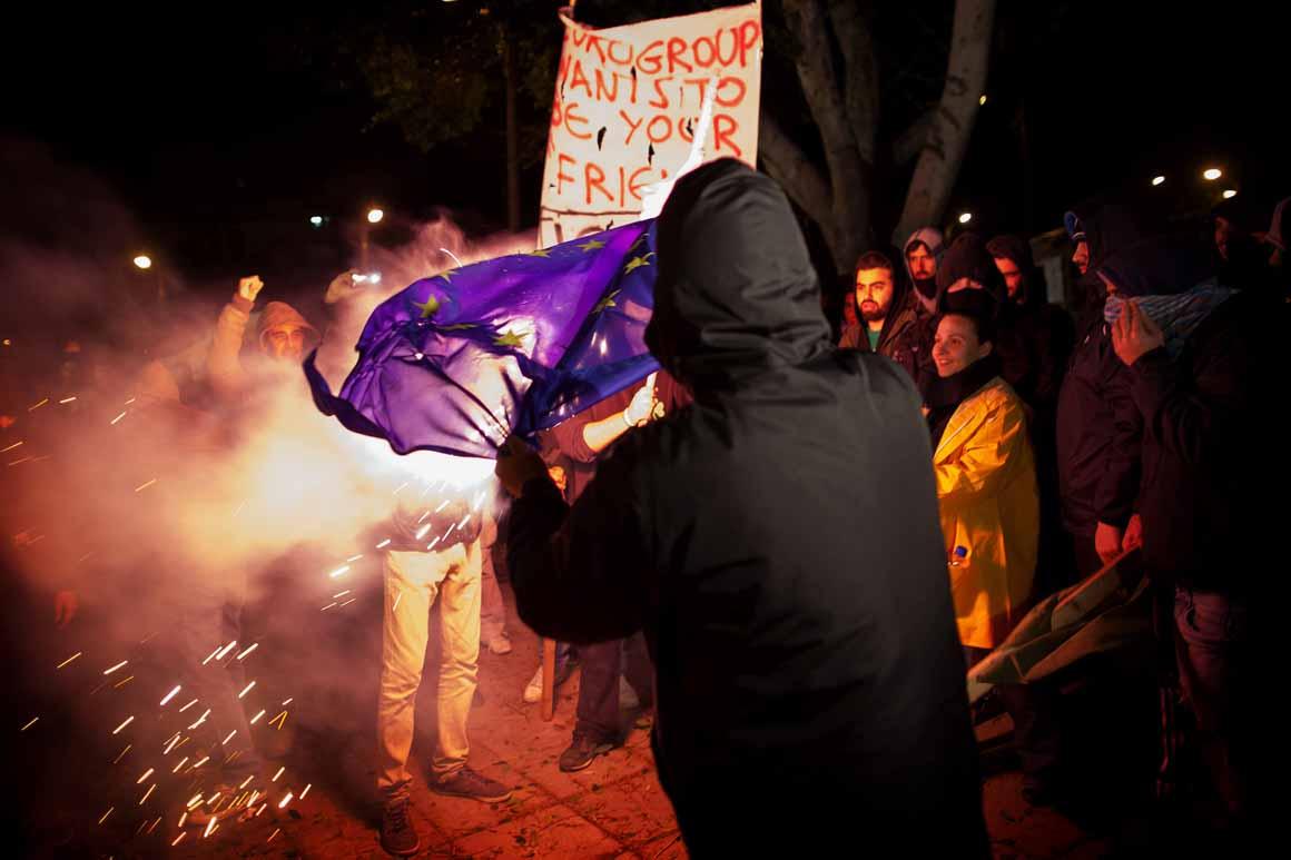 Sentimento anti-euro tomou conta do país